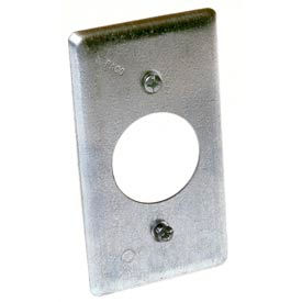 """Hubbell 867 Handy Box Cover, 20a Receptacle 1.594"""" Diameter - Pkg Qty 25"""