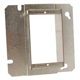 """Hubbell 898 4-11/16"""" Square Mud-Ring, For 1 Device, Raised 1-1/2"""" - Pkg Qty 20"""