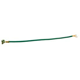 """Hubbell 993 Grounding Pigtail, 8"""" Length, #12 Stranded Insulated - Pkg Qty 500"""