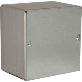 "Hubbell-Wiegmann SC080806NK Pull Box, NEMA 1, Screw Cover, 8""L x 8""W x 6""H, Painted, No KOs"