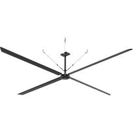 Hunter ECO 72016 - Industrial Ceiling HVLS Fan - High Volume - 215000 CFM, 20 Ft. Dia, 1 PH, 230V