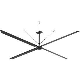 Hunter ECO 72017 - Industrial Ceiling HVLS Fan - High Volume - 180000 CFM, 18 Ft. Dia, 1 PH, 230V