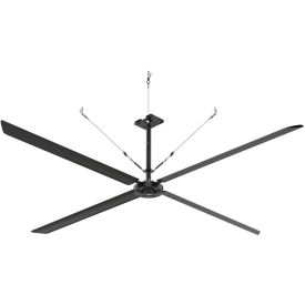 Hunter ECO 72018 - Industrial Ceiling HVLS Fan - High Volume - 155000 CFM, 16 Ft. Dia, 1 PH, 230V