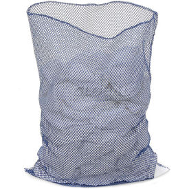 Mesh Bag W/Out Closure, Blue, 18x24, Heavy Weight - Pkg Qty 12