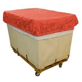 HG Maybeck Hamper Basket Cap, 400 Denier Nylon, 12 Bushel, Red