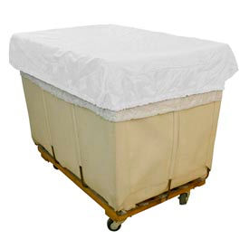 HG Maybeck Hamper Basket Cap, 200 Denier Nylon, 8 Bushel, White