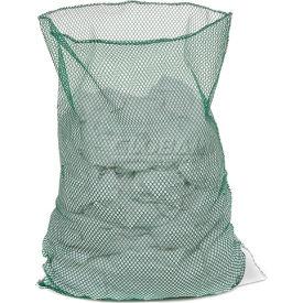Mesh Bag W/Out Closure, Green, 18x30, Medium Weight - Pkg Qty 12