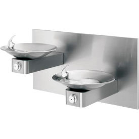 "Haws ""Hi-Lo"" Barrier-Free Wall Mounted SS Drinking Fountains"