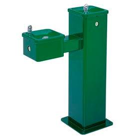 "Haws Streetsmart ""Hi-Lo"" Vandal-Resistant SS Pedestal Outdoor Drinking Fountain"