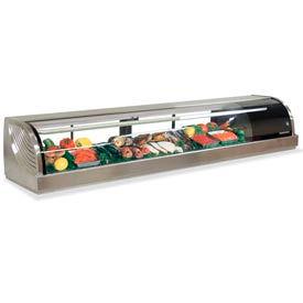 "Hoshizaki HNC-210BA-R-S - Countertop Refrigerated Display Case, Right, 82-3/4""W"