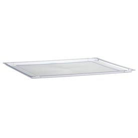 "18-1/2"" Lid Clear for Mobile Work Center Trays"