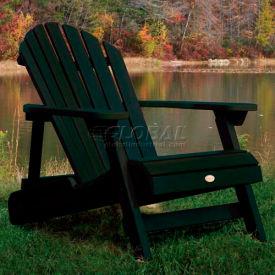 highwood® Hamilton Folding Adirondack Chair, Adult - Charleston Green