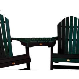 highwood® Adirondack Tete-A-Tete Connecting Table - Charleston Green