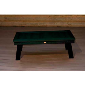 highwood® Pocono Deep Seating Patio Conversation Table - Charleston Green