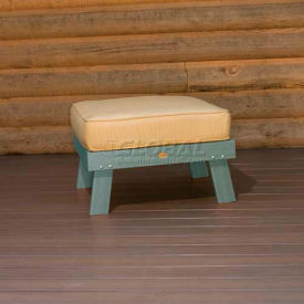 highwood® Pocono Deep Seating Patio Love Seat - Coastal Teak/Bamboo (Sold in Pk. Qty 3) - Pkg Qty 3