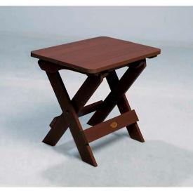 highwood® Hamilton Folding Adirondack Side Table - Weathered Acorn