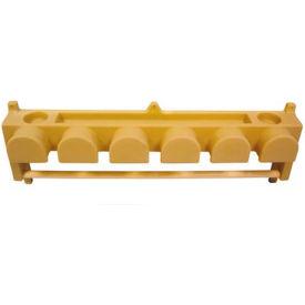 High Country Plastics Six Hook Bridle/Blanket Rack, BHBR-6FG