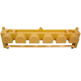 High Country Plastics Six Hook Bridle/Blanket Rack, BHBR-6P
