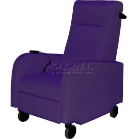 HPFI® Haley Recovery Room Recliner, Dark Orchid