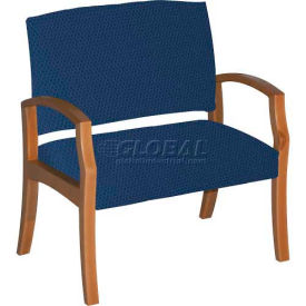 "HPFI® Unos Bariatric Chair with 30"" wide seat. Sky"