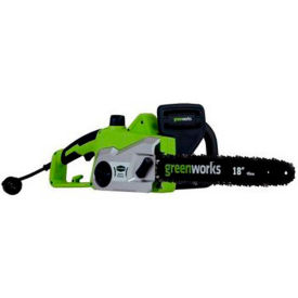 """GreenWorks® 20332 16"""" Corded Chainsaw, 14.5 AMP"""
