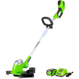 "GreenWorks™ 21302 G-MAX 13"" Cordless String Trimmer Kit, 40V, 2aH Li-Ion Battery & Charger"
