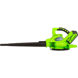 GreenWorks® 24322 G-MAX Cordless DigiPro Variable Speed Blower Vac, 40V, 4aH Battery & Charger