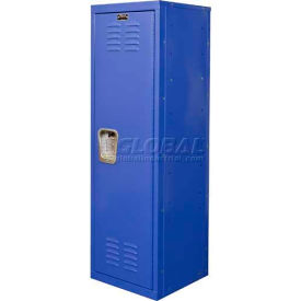 "Hallowell HKL151548-1GS Kid Locker, 15""W x 15""D x 48""H, Grand Slam Blue"