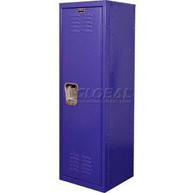 """Hallowell HKL151548-1PR Kid Locker, 15""""W x 15""""D x 48""""H, Pep Rally Purple"""