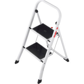 Ladders Steel Step Ladders Hailo K20 2 Step Steel Step
