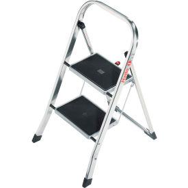 Hailo K30 2 Step Aluminum Folding Step Ladder - 4392-801