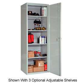 Hallowell HTC822-1AS-PL SecurityMax High Security Solid Welded Locker 18x22x72 by