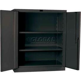 "Hallowell HW6SC6142-2CL 16 Gauge Heavy-Duty Classic DuraTough Storage Cabinet, 36""W x 21""D x 42""H"