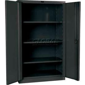 "Hallowell HWG6SC6160-3CL 16 Gauge Heavy-Duty Galvanite DuraTough Storage Cabinet, 36""W x 21""D x 60""H"