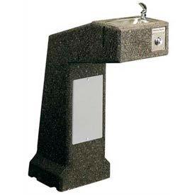 Halsey Taylor 4590FR Sierra Stone Pedestal Frost-Resistant I/O ADA Fountain