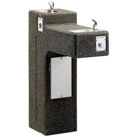 Halsey Taylor Sierra™ Bi-Level Frost-Resistant I/O Stone Pedestal Fountain