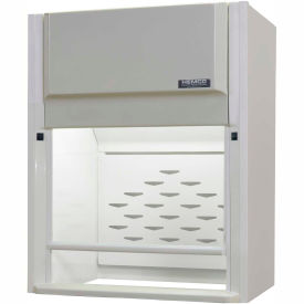 "HEMCO® CE AireStream Fume Hood with Vapor Proof Light & Built-In Blower, 48""W x 24""D x 45""H"