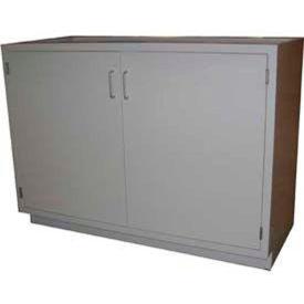 """HEMCO® Base Cabinet, 36""""W x 22""""D x 35-1/4""""H, 2 Doors, Silver Beige"""