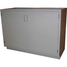 """HEMCO® Base Cabinet, 30""""W x 22""""D x 35-1/4""""H, 2 Doors, Silver Beige"""