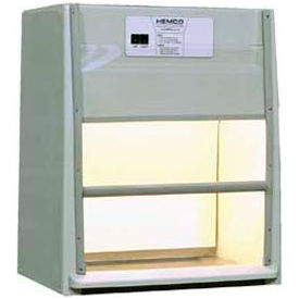 "HEMCO® EcoFlow Fume Hood with Vapor Proof Light, 24""W x 23""D x 36""H"