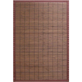 Anji Mountain, AMB0012-0023, 2' x 3' Villager Coffee Bamboo Area Rug