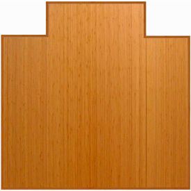 "Anji Mountain,AMB0500-1002,47"" x 51"" Natural Bamboo Tri,Fold Office Chair Mat"