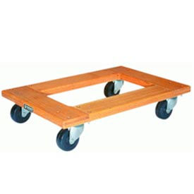 Wood Dolly 20x30 Metal Wheels 700 lbs