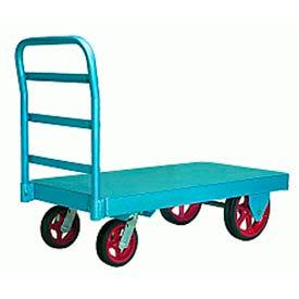 Steel Platform Truck 30x60 Plastex Wheels 3000 lbs