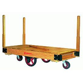 Tilt Truck 24x48 Solid Wood Moldon Rubber Wheels 1500 lbs