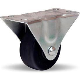 Hamilton® Leader Light Duty Rigid 2-1/2 x 1-1/8 Flexonite Oilless 120 Lb. Caster