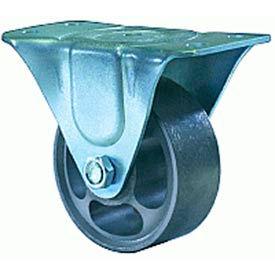 Hamilton® Leader Light Duty Rigid 3 x 1-1/4 Flexonite Oilless 125 Lb. Caster