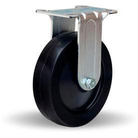 Hamilton® General Utility Rigid 5 x 1-1/4 Ebonite Oilless 280 Lb. Caster