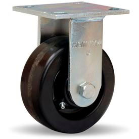 Hamilton® Standard Cold Forged Rigid 5 x 2 Plastex Roller 900 Lb. Caster