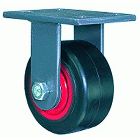 Hamilton® Extended Service Forged Rigid 6 x 2-1/2 Metal Roller 2200 Lb. Caster